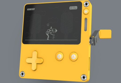 Playdate, a new handheld game console